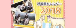 2018園田競馬・笠松競馬 合同 誘導馬カレンダー スマホ