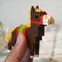 馬のnanoblock!ちっちゃなブロックで馬を作っちゃおう!