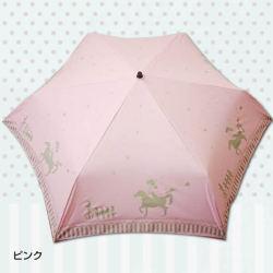夢見る馬柄 折りたたみ傘 3色